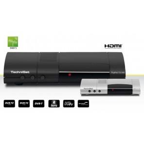 TechniSat DigiPal T2 HD silber 0001/4930 DVB-T2 HD Receiver Irdeto Entschlüsselung
