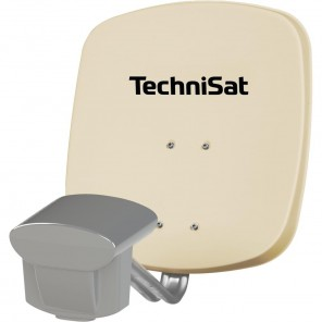 TechniSat 1045/8814 Multytenne45 QuattroSat, | beige, Single