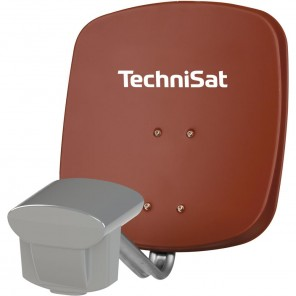 TechniSat 1445/8815 Multytenne45 QuattroSat, rot, Twin