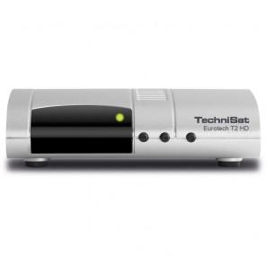 TechniSat Eurotech T2 HD silber 0001/4922 DVB-T2 HD Receiver | B-Ware