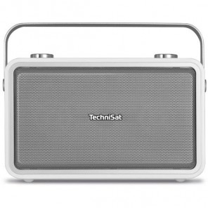 Technisat  0001/4986 DigitRadio 225 | weiß, DAB+/UKW, LCD-Display