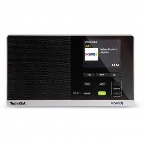 TechniSat DigitRadio 215 SWR4-Edition schwarz 0000/4995 | DAB+/UKW-Radio