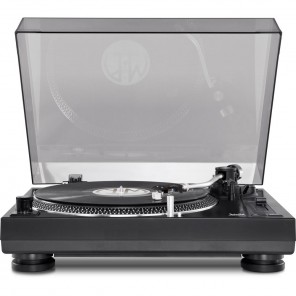 Technisat TechniPlayer LP 300 0000/9413 | Vinyl Plattenspieler schwarz/silber