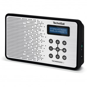 Technisat  0000/4965 TechniRadio 2 | schwarz/silber, portabel, DAB+/UKW