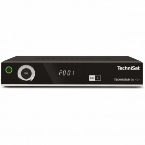 TechniSat TechniStar S6 HD+ schwarz 0000/4715 | HDTV Sat-Receiver inkl. HD+ Karte, USB PVRready, CI+
