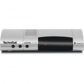 TechniSat DigiPal T2/C HD silber 0001/4938 | HDTV DVB-T2 und DVB-C Receiver, Irdeto