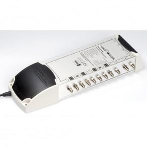 AMS 906 N Multischalter für 6 Teilnehmer mit ECO-Funktion und terrestrischem Verstärker