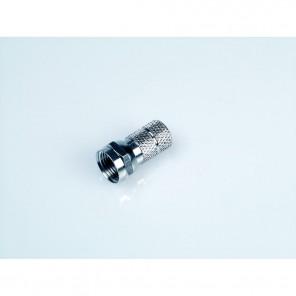 F1 schraubbarer F-Stecker für 6,1 mm Koaxialkabel