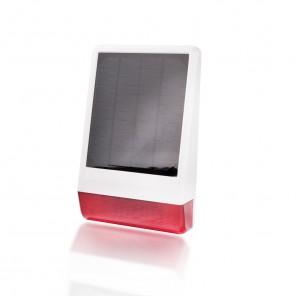 Popp SmartHome Außensirene solarbetrieben POPE005107 | IP 56 | Z-Wave Plus