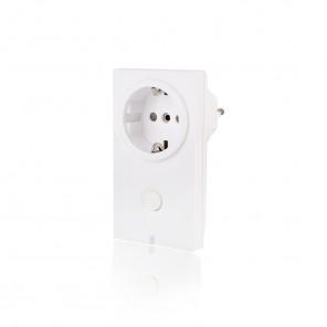 Popp SmartHome Schutzkontakt-Zwischenstecker Schalter POPE009006 Z-Wave Plus