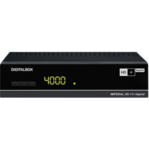 Digitalbox IMPERIAL HD 11+ Hybrid HD+ SmartTV Satelliten-Receiver, schwarz