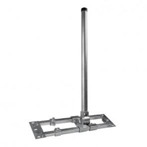 Dachsparrenhalter Herkules 48/900 | Ø48mm, Mastlänge 90cm, 55-90 cm Sparrenabstand | B-Ware