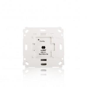 HomeMatic Funk-Schaltaktor 1-fach 103029 HM-LC-SW1PBU-FM für Markenschalter Unterputzmontage