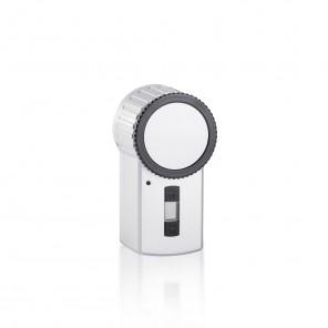 HomeMatic Funk-Türschlossantrieb KeyMatic silber 131762 HM-SEC-KEY