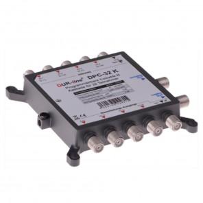 DUR-line DPC-32 K programmierbare Unicable I- und II-Kaskade | Sat-Multischalter