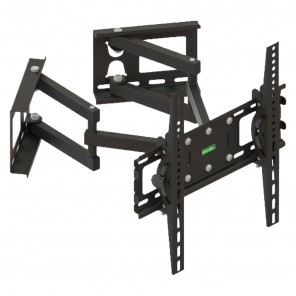 DUR-line WHTV 13 TV-Wandhalter 32-60 Zoll |  120° schwenkbar | für Eckmontage geeignet