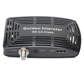 Golden Interstar HD CA Class HD Satelliten-Receiver im Miniformat mit Conax Kartenleser