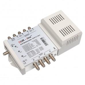 DUR-line DCR 5-1-8L4 Einkabel-Multischalter für 1x8 + 4 Teilnehmer | kaskadierbar