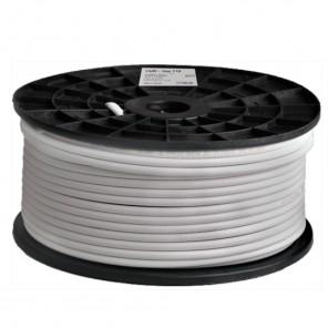 DUR-line DUR 110-100 Koaxialkabel | 100m-Rolle SAT-Digitalkabel, 7mm, 4-fach geschirmt, 1,02 CU