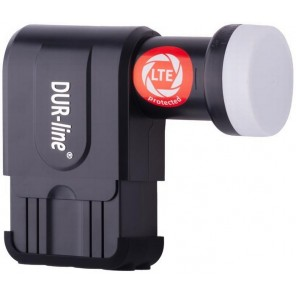 DUR-line +Ultra Premium Octo LNB schwarz | 8 Teilnehmer, LTE-Filter, FullHD, HDTV, 3D