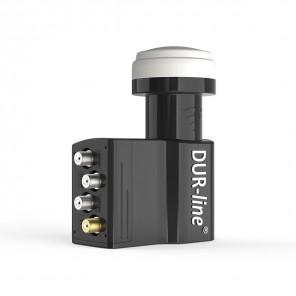DUR-line UK 104 Unicable SCR LNB | 4 + 3 Teilnehmer, 0,1 dB, HDTV, UHD (4K), 3D