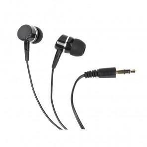 Vivanco SR 3040 Stereo In-Ear-Ohrhörer schwarz bassbetont, 109dB, 3,5mm Klinke, 1,2m Kabel