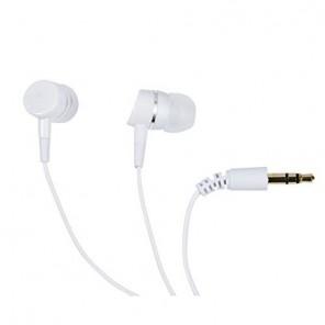 Vivanco SR 3041 Stereo In-Ear-Ohrhörer weiß bassbetont, 109dB, 3,5mm Klinke, 1,2m Kabel