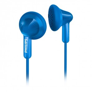 Philips SHE 3010 In-Ear-Ohrhörer blau bassbetont, 3,5mm Klinke