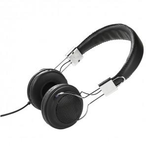 Vivanco COL 400 Street Style Kopfhörer schwarz 110dB, 3,5mm Klinke, 1,8m Kabel