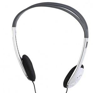 Vivanco SR 3031 Stereo Bügel-Kopfhörer schwarz/silber, 105dB, 3,5mm Klinke, 1,2m Kabel
