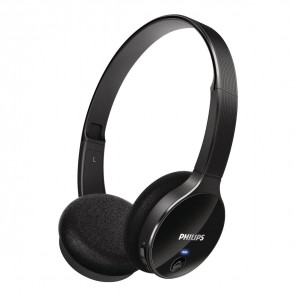 Philips SHB 4000 On-Ear-Kopfhörer schwarz kabellos, Bluetooth, stereo, ideal f.Smartphones