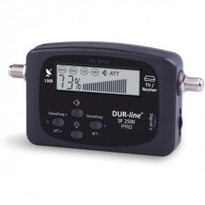 DUR-line SF 2500 Pro Sat-Finder | Digital-Anzeige, akustisches Signal, Messgerät