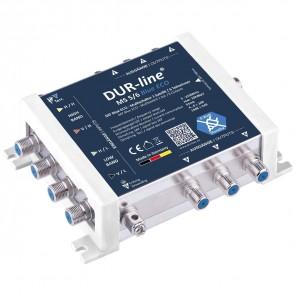 DUR-line MS 5/6 blue eco Stromspar Sat Multischalter 6 Teilnehmer ohne Netzteil