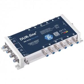 DUR-line MS 5/12 blue eco Stromspar Sat Multischalter 12 Teilnehmer ohne Netzteil