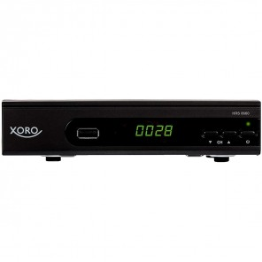 Xoro HRS 8660 HD Sat-Receiver schwarz PVR-ready DVB-S2 Receiver, HDMI, SCART, USB 2.0
