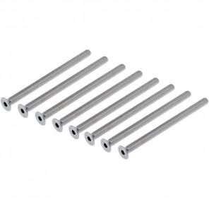 DUR-line Herkules 8PL-Schraubensatz zur Erweiterung des Herkules 4PL Plattenständers | 8x Senkschrauben 8x90mm, 4 auf 8 Platten