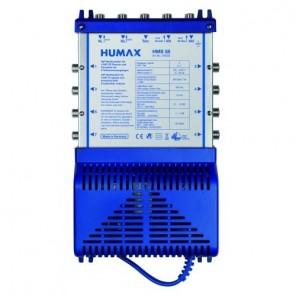 Humax HMS 5/8 Sat Multischalter 8 Teilnehmer | Netzteil mit Standby-Funktion, Quattro- und Quad-LNB tauglich, Digital, HDTV, FullHD, 4K, UHD