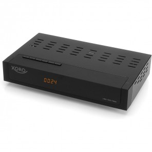 Xoro HRK 7670 TWIN HD Kabelreceiver schwarz PVR-ready | DVB-C Twin Receiver, HDTV, 1080p, HDMI