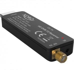 B-Ware - Xoro HRT 7610 Full HD Receiver-Stick DVB-T/T2 schwarz   H.265 HEVC, HDMI, USB, EPG, 5V DC, HD DVB-T2 HDMI Stick