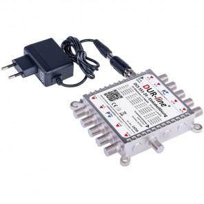 DUR-line DCS 551-24 Einkabellösung kaskadierbar 24 SCR-Teilnehmer, Betrieb mit Quattro LNB