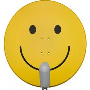 TechniSat  6585/8882 Satman850 Plus | smiley-gelb, Unysat Twin-LNB