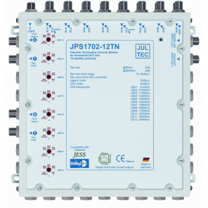 Jultec  JPS1702-12MN Einkabelumsetzer | 17/2x12, kaskadierbar, NT