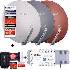 DUR-line Select Sat Schüsseln und DUR-line Sat-Anlagen